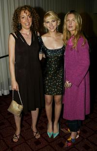Deborah Kara Unger, Shainee Gabel, Scarlett Johansson at the Hollywood Film Festival's closing night premiere of