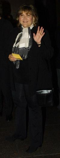 Brenda Vaccaro at the memorial tribute to the director Stanley Kramer.