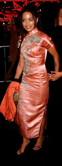Lisa Bonet at the premiere of