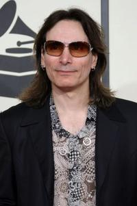 Steve Vai at the 50th Annual Grammy Awards.