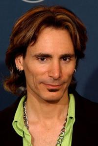 Steve Vai at the 44th Annual Grammy Awards.