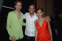 Steve Vai, Craig David and Nelly Furtado at the 44th Annual Grammy Awards.