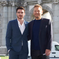 Richard Madden and director Kenneth Branagh at the photocall of