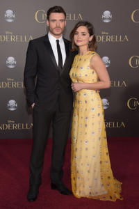 Richard Madden and Jenna Coleman at the premiere of