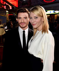 Richard Madden and Cate Blanchett at the premiere of