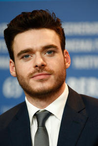 Richard Madden at the press conference of 'Cinderella' during the 65th Berlinale International Film Festival.