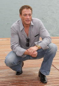 Jean-Claude Van Damme at the 61st International Cannes Film Festival.