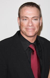 Jean-Claude Van Damme at the Cesar Film Awards 2008.