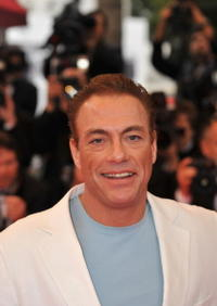 Jean-Claude Van Damme at the premiere of
