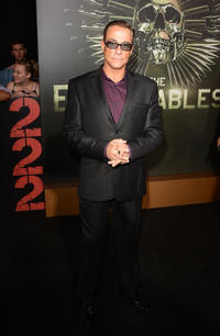 Jean-Claude Van Damme at the California premiere of