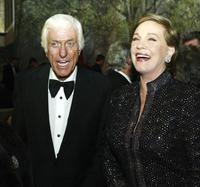 Dick Van Dyke and Julie Andrews at the Disney's
