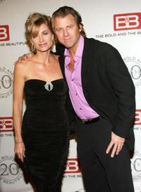 Eileen Davidson and Vincent Van Patten at the