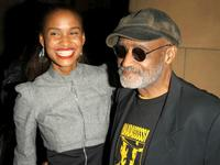Melvin Van Peebles and Joy Bryant at the after party for the Los Angeles Premiere of