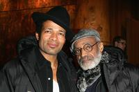 Melvin Van Peebles and Mario Van Peebles at the 2005 Sundance Film Festival.