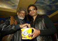 Melvin Van Peebles and Mario Van Peebles at the 2003 Sundance Film Festival.