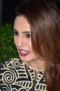 Huma Qureshi at an event with the cast of