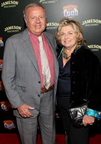 Dick Van Patten and Pat at the celebration of Jimmy Kimmel Live's 1000th episode with Jameson Irish Whisky.