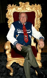 Dick Van Patten at the 2005 Hollywood Christmas Parade.