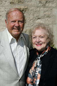 Dick Van Patten and Betty White at the 12th Annual Safari Brunch.