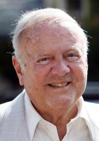 Dick Van Patten at the 12th Annual Safari Brunch.
