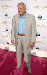 Dick Van Patten at the Tea in the Desert benefiting the SAG Foundation.
