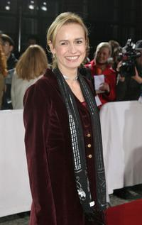 Sandrine Bonnaire at the European Film Awards 2005.