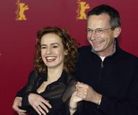 Sandrine Bonnaire and Patrice Leconte at the 54th annual Berlinale International Film Festival.