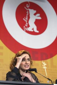 Sandrine Bonnaire at the 54th annual Berlinale International Film Festival.