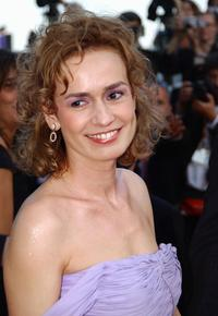 Sandrine Bonnaire at the 56th Cannes film festival.