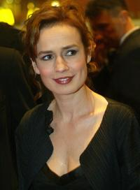 Sandrine Bonnaire at the 254th Berlinale Film Festival.