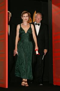 Sandrine Bonnaire and Luc Dardenne at the 59th International Cannes Film Festival.