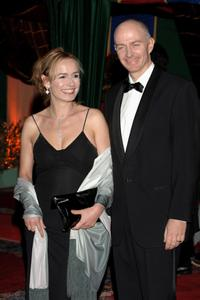 Sandrine Bonnaire and husband Guillanme Laurant at the Marrakesh International Film Festival 2005 .