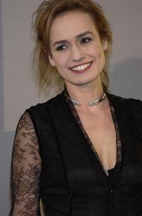 Sandrine Bonnaire at the 29th Nuit des Cesars.