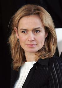 Sandrine Bonnaire at the Spring/Summer 2005 Haute Couture collections.