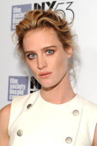 Mackenzie Davis at the 53rd New York Film Festival - 'The Martian' Premiere - Red Carpet at Alice Tully Hall.