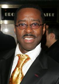 Courtney B. Vance at the Broadway opening of