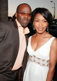 Courtney Vance and Angela Bassett at the premiere of
