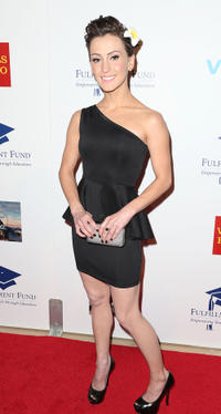 Erica Linz at the Fullfillment Fund's STARS 2012 Benefit Gala in California.