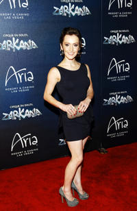 Erica Linz at the Las Vegas premiere of