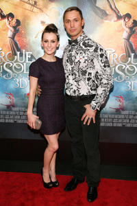 Erica Linz and Igor Zaripov at the New York premiere of