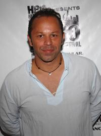 Nelson Vasquez at the screening of