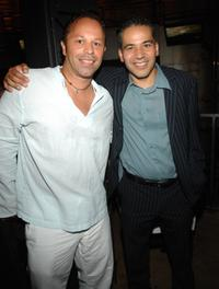 Nelson Vasquez and John Ortiz at the screening of