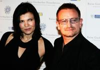 Ali Hewson and Bono at the Raisa Gorbachev Foundation Party.