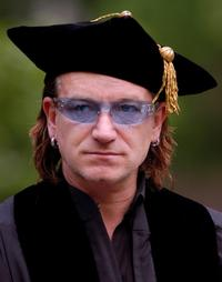 Bono talks at the 248th Commencement of the University of Pennsylvania.