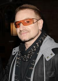 Bono at the EDUN Fall/Winter 2008 Nocturne Collection.