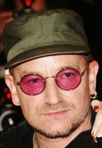Bono talks at the 60th International Cannes Film Festival premiere of