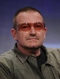 Bono at the Clinton Global Initiative (CGI).