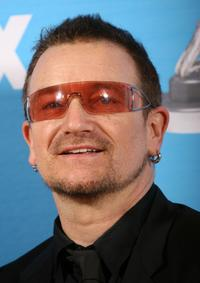 Bono talks at the 38th annual NAACP Image Awards.