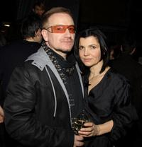 Bono and Ali Hewson at the EDUN Fall/Winter 2008 Nocturne Collection.