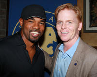 Jason George and Ned Vaughn at the Screen Actors Guild Awards in California.